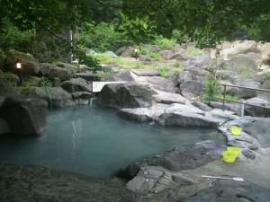 滑川温泉露天風呂