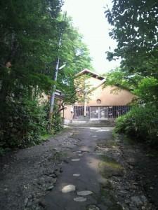 温川山荘外観