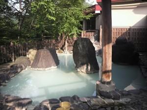 松川温泉峡雲荘露天
