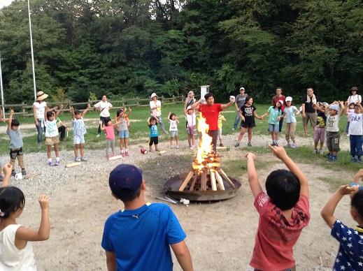 猛暑でデイキャンプ:長男学童