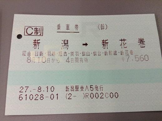 経路と切符の話