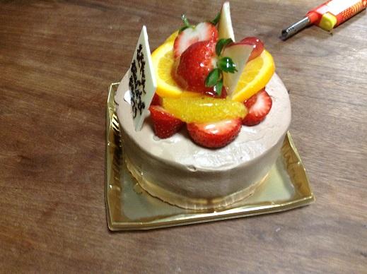 長男の誕生日(平成27年)