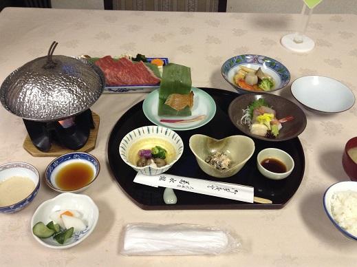 大沢温泉菊水館の食事