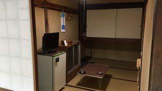 大沢温泉自炊部3つの部屋(平成29年)