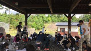 化石発掘体験と恐竜博物館(平成29年10月)