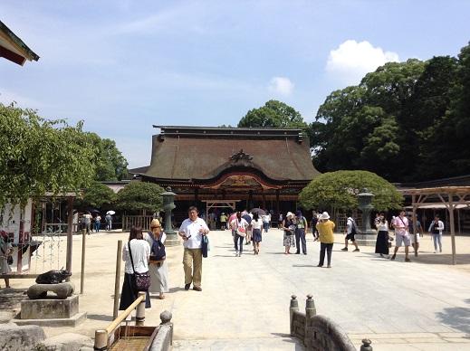 太宰府天満宮と九州国立博物館