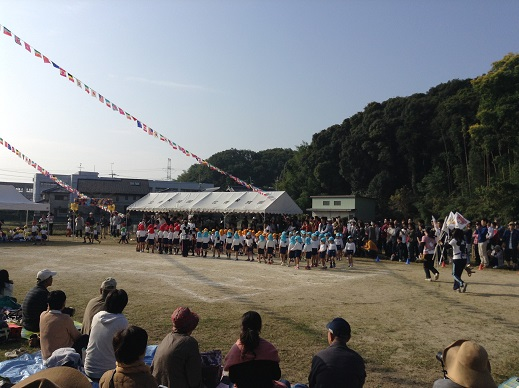 運動会:次男(平成27年)