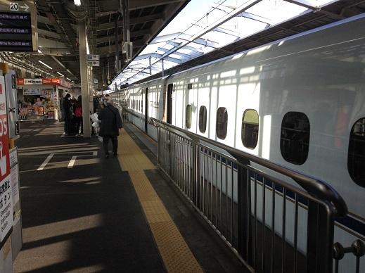 長男の福岡帰省(平成27年冬)