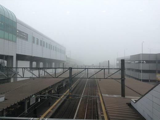 霧とUターン(平成28年始)