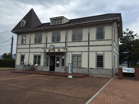 旧敦賀港駅舎:敦賀鉄道資料館