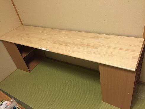 DIY/カラーボックスで机製作