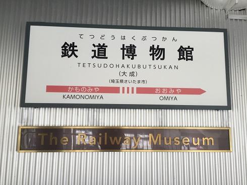 GW東京行:鉄道博物館
