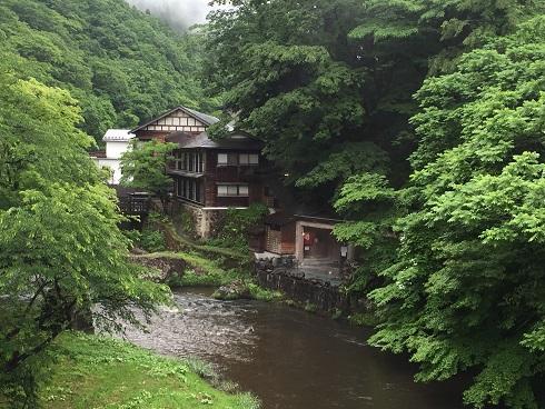 大沢温泉菊水館二泊は雨模様(平成28年6月)