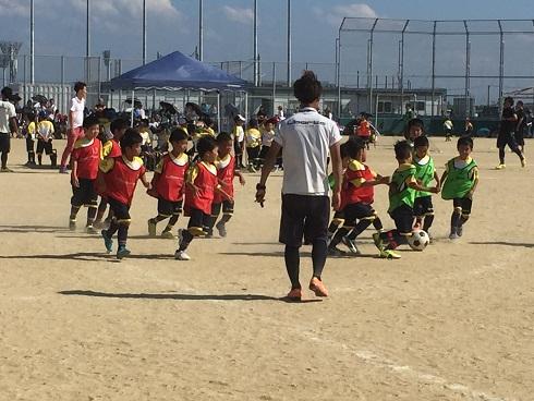サッカー大会参加:次男(平成28年7月)