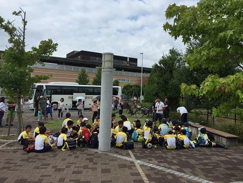 サッカー合宿で子供不在の日曜日