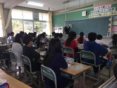 授業参観:長男(平成28年10月)