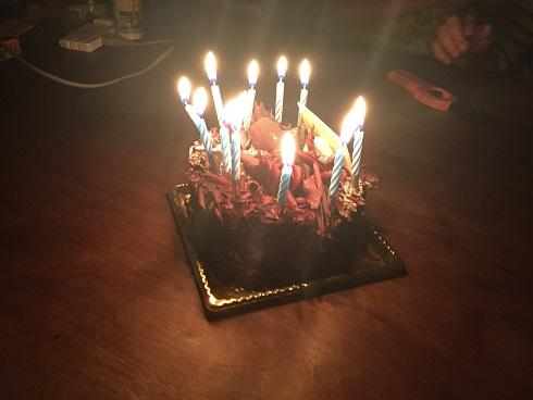 誕生日:長男(平成28年)