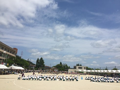 好天の運動会(平成29年)