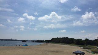 志摩行:海開き前の海水浴場はガラガラ