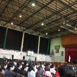 小学校卒業式:長男