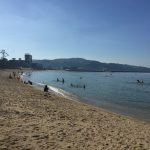 大浜海水浴場:淡路島行