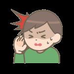 頭痛で保健室:長男