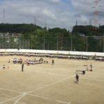 中学校の運動会:長男