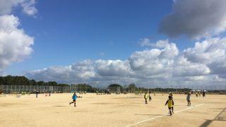 サッカー大会はあっさり敗退:次男(令和元年11月)