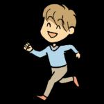 次男とジョギング始める(令和2年3月)