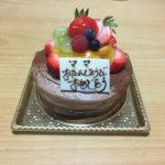 ママの誕生日(令和2年)