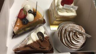 受験は終了ケーキでお祝い(令和3年)