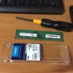 デスクトップPCのメモリ増設